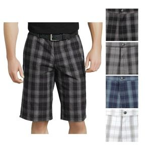 Dickies Shorts Plaid Relaxed Fit Multi Pocket